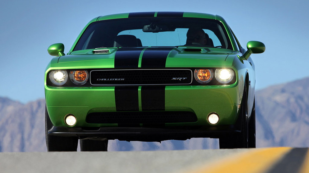 2011 Dodge Challenger SRT8 392 with Green With Envy paint job