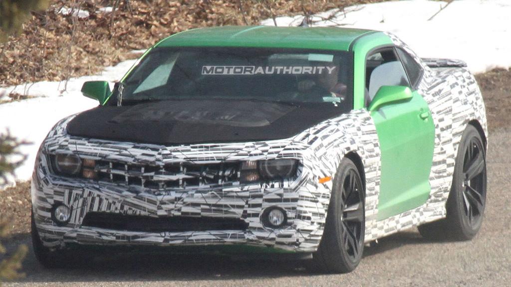 2012 Chevrolet Camaro Synergy Series spy shots