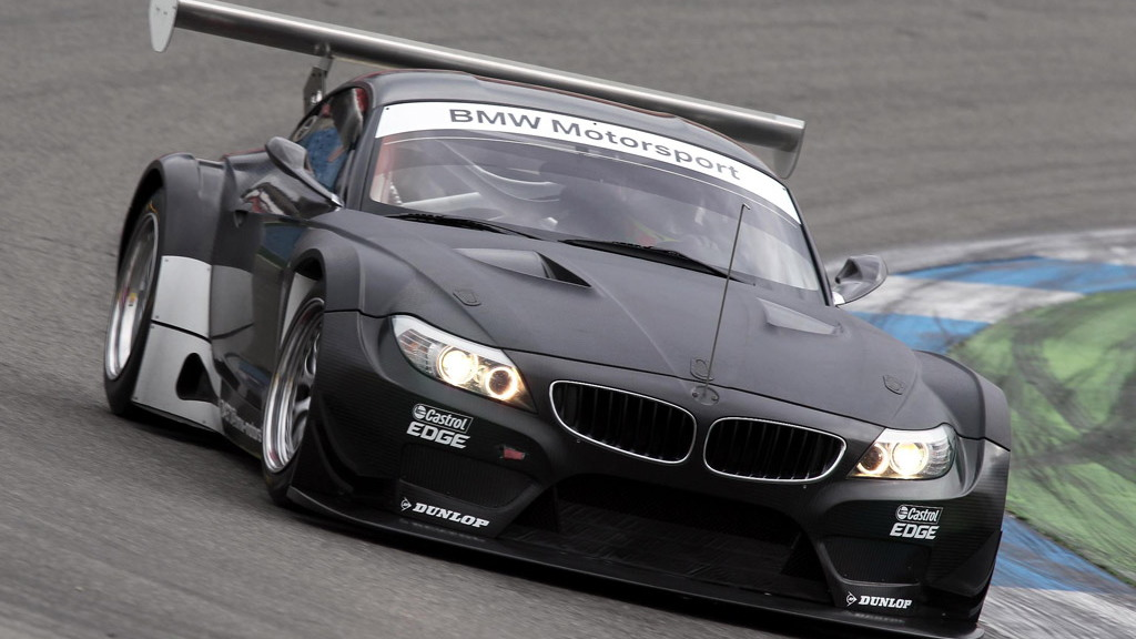 2011 BMW Z4 GT3 race car