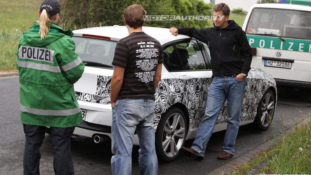2012 BMW 1-Series Hatchback spy shots