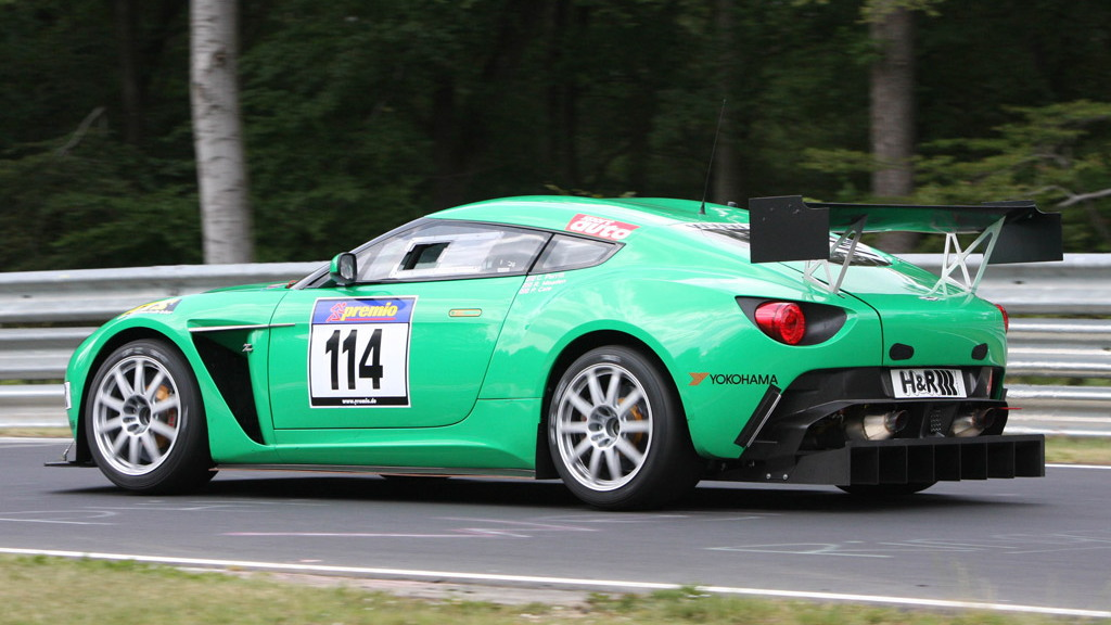 Aston Martin V12 Zagato race car - Copyright High Gear Media
