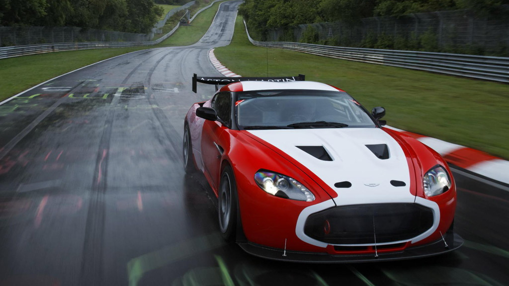 Aston Martin V12 Zagato race car