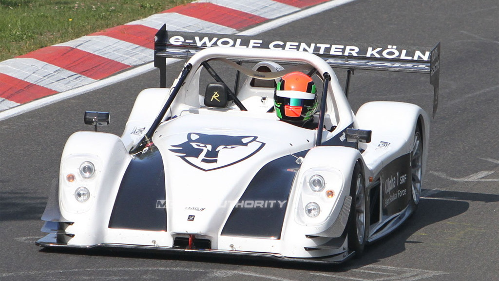 e-Wolf Alpha 1 SRF electric track car