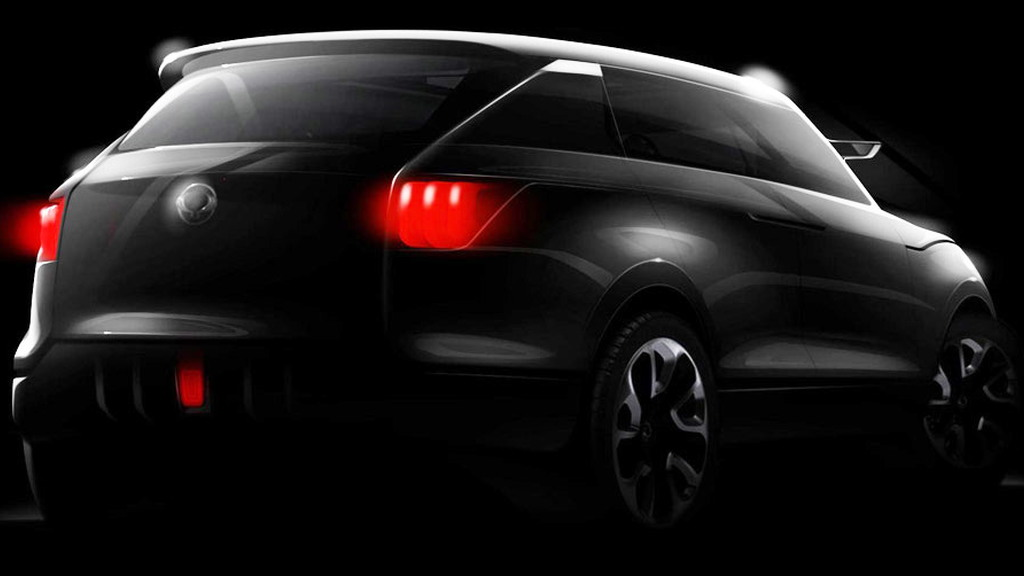 2011 SsangYong Concept XUV 1