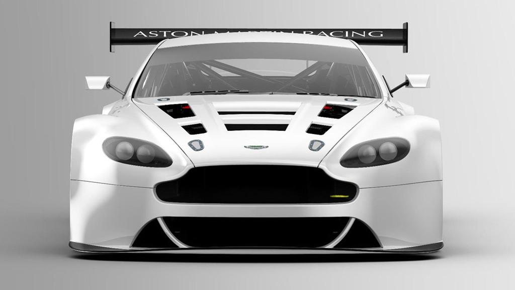 2012 Aston Martin V12 Vantage GT3 race car