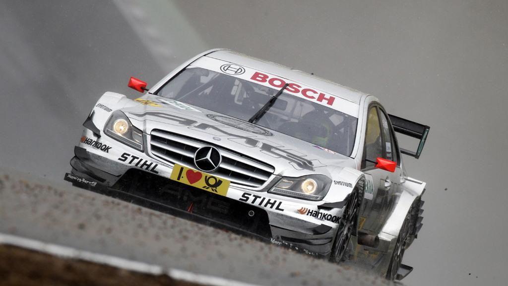 2011 Mercedes-Benz C-Class DTM race car
