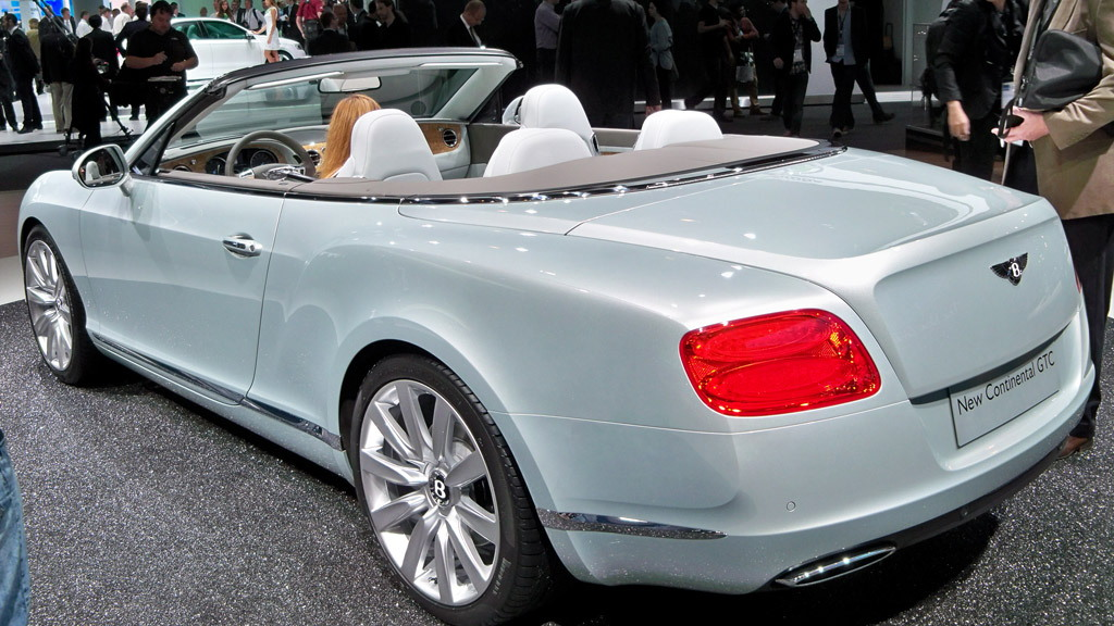 2012 Bentley Continental GTC live photos