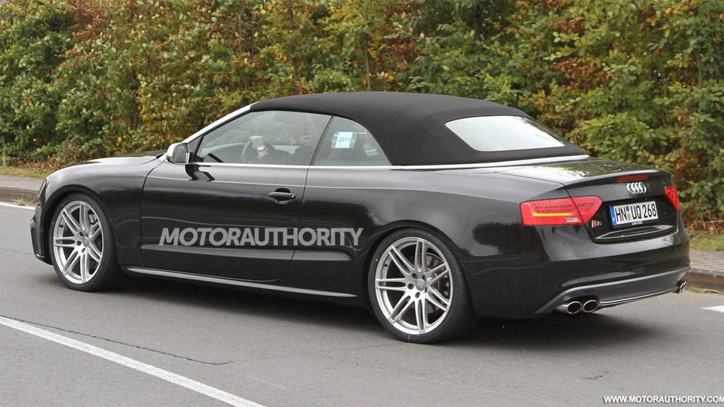 2012 Audi RS5 Cabrio spy shots