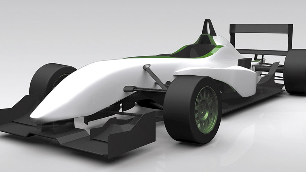 KleenSpeed EV-X11 electric race car prototype