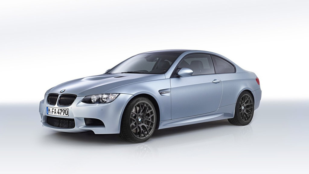 2012 BMW M3 Competition Edition in Frozen Silver