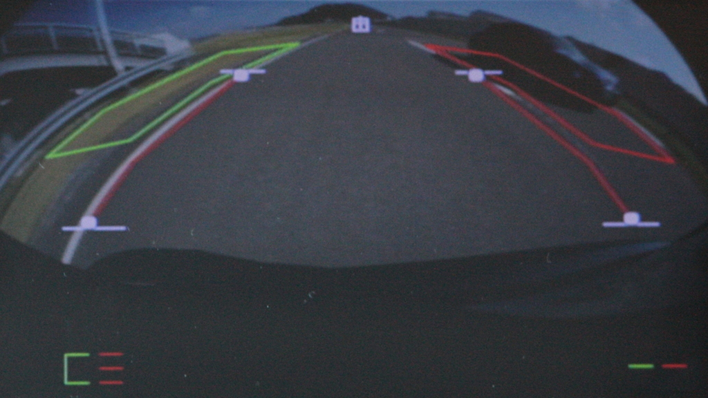 Nissan camera-based Blind Spot Warning