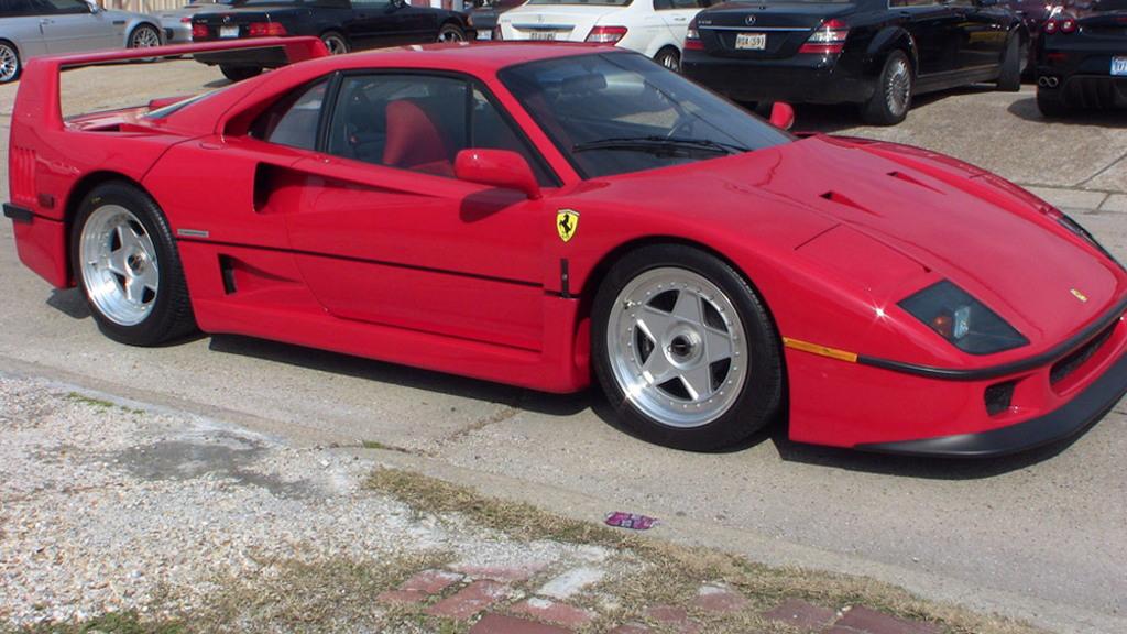 1990 Ferrari F40 - Image courtesy eBay