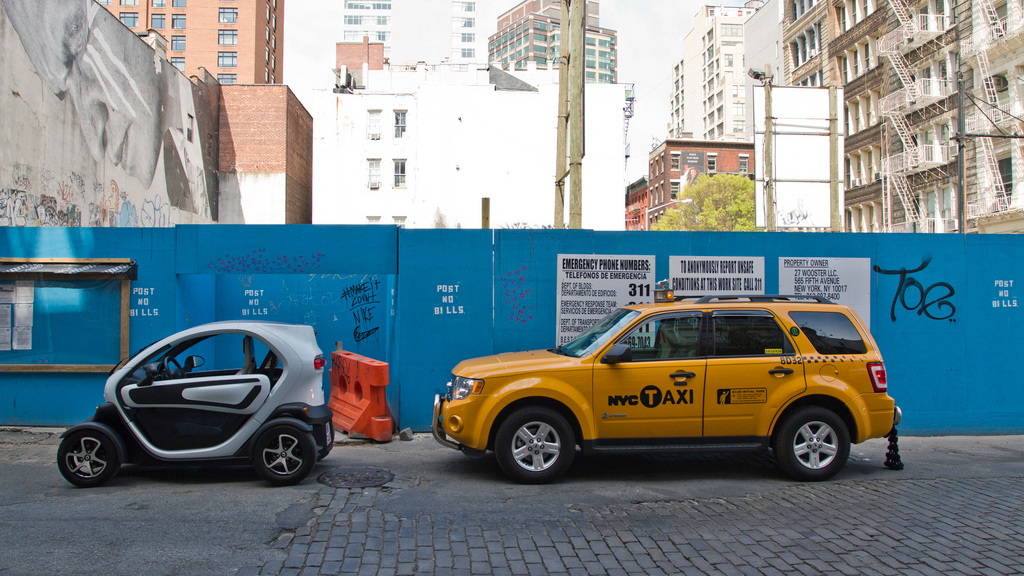 Renault Twizy in New York City. Photos: Renault Official on Flickr