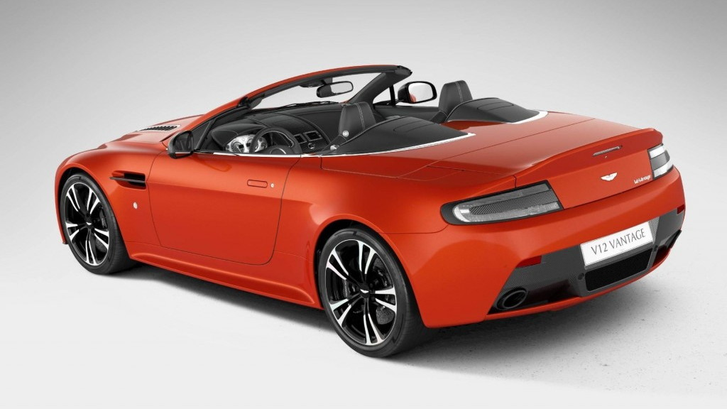 Aston Martin's V12 Vantage Roadster