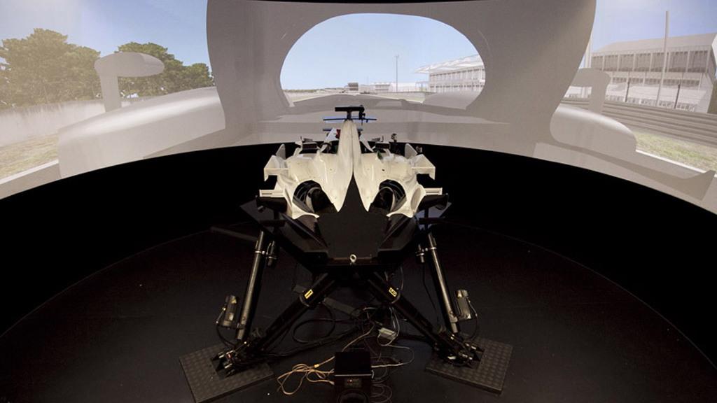 TMG racing simulator