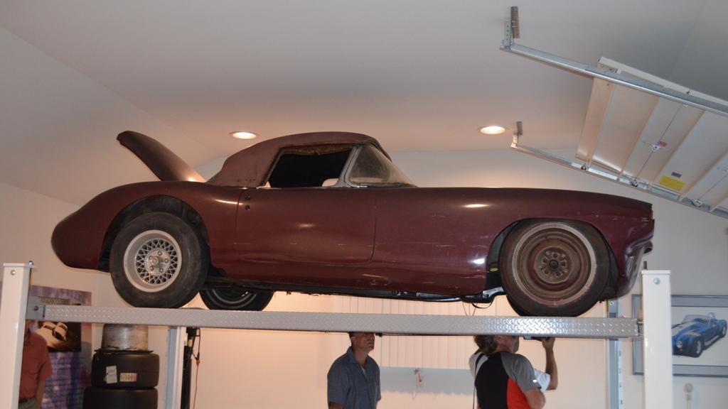 #1 Briggs Cunningham 1960 Chevrolet Corvette