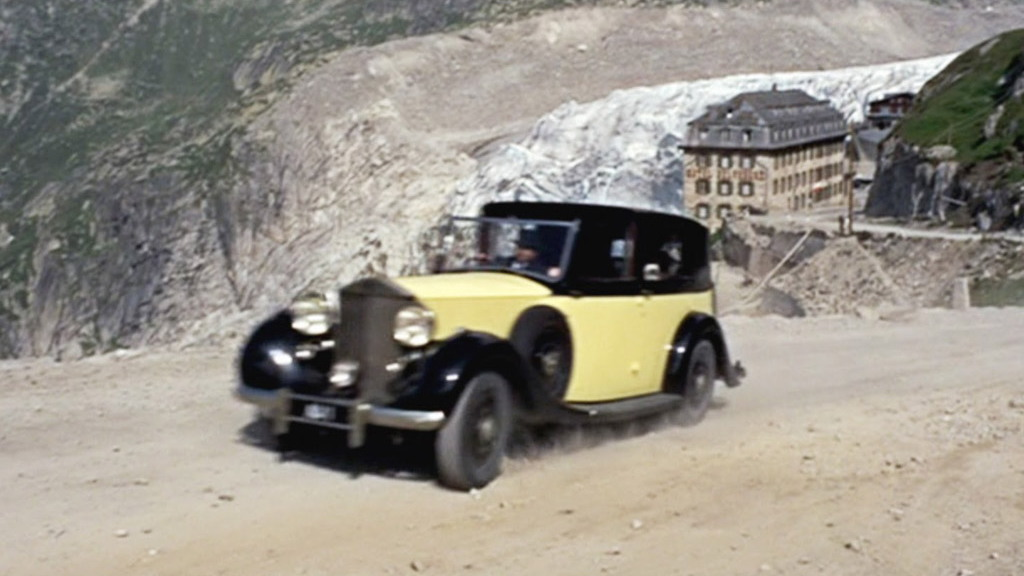 Rolls-Royce Phantom III from Goldfinger - Image courtesy of United Artists