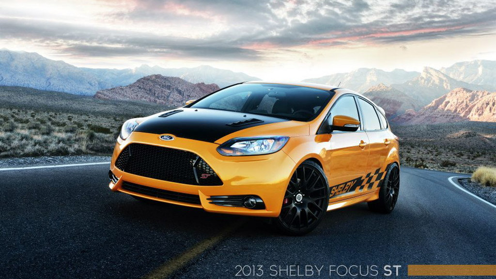Custom Focus St >> Shelby Goes Small With Custom Ford Focus St 2013 Detroit