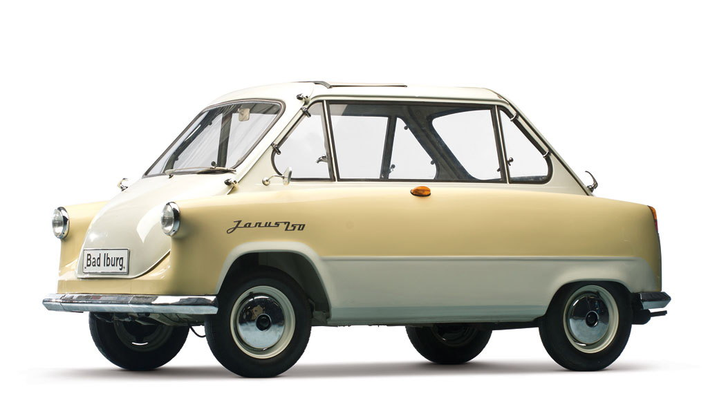 1958 Zündapp Janus from the Bruce Weiner Microcar Museum [Photo: RM Auctions]