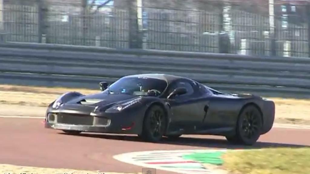 Ferrari F150 Enzo Replacement Spy Video