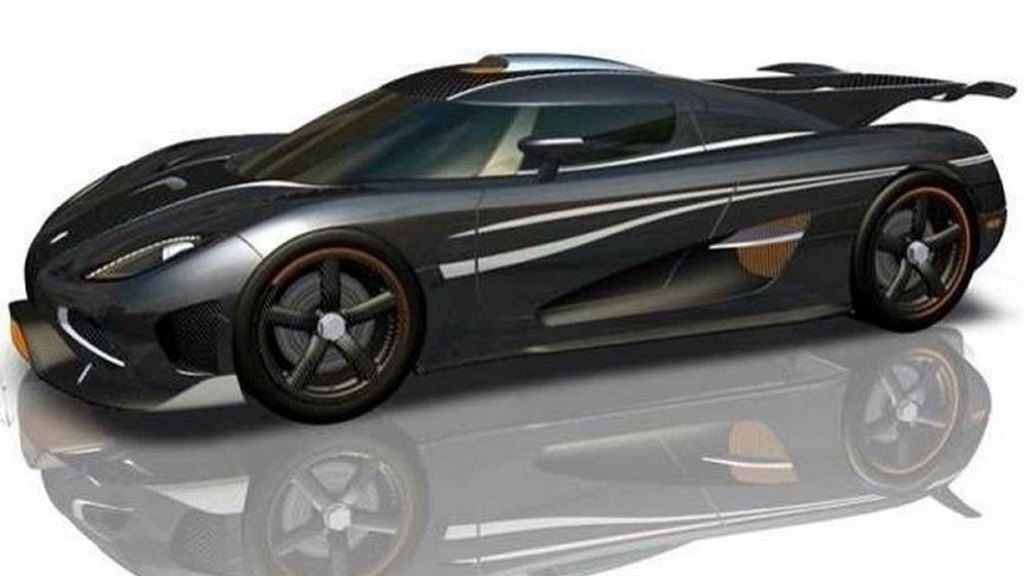 Koenigsegg One:1 official renderings