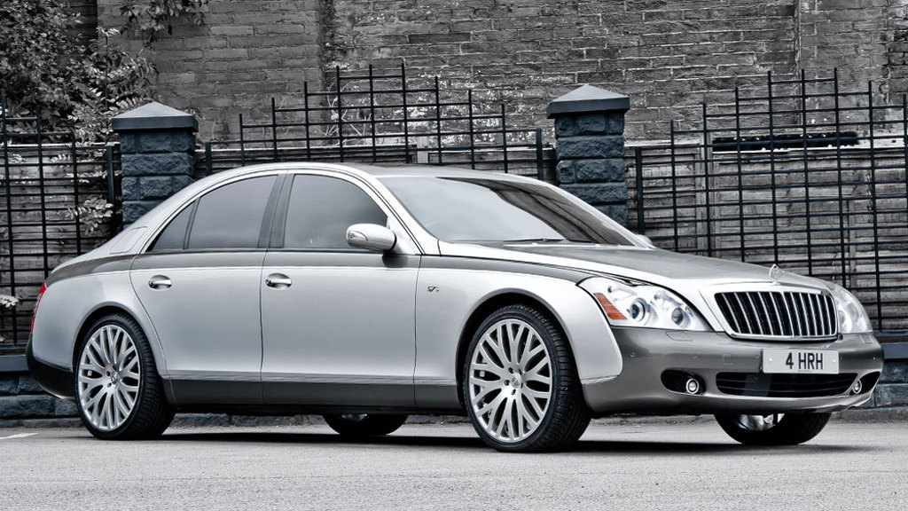 A. Kahn Design's custom Maybach 57S