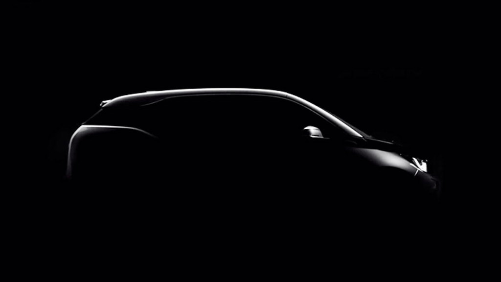 Teaser for 2014 BMW i3