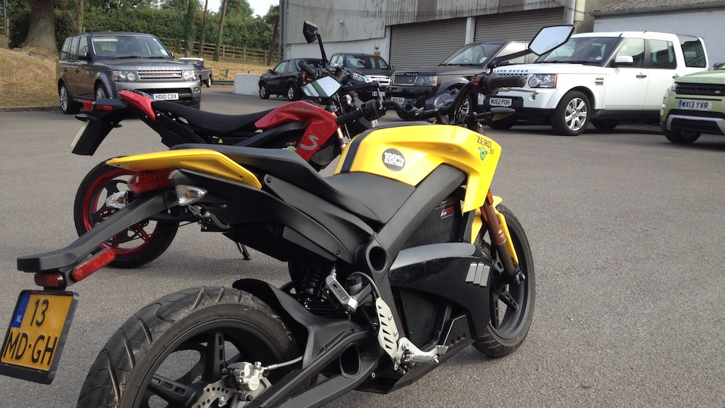 2013 Zero S Electric Motorcycle