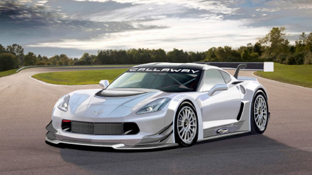 Callaway Competition 2014 Chevrolet Corvette Stingray GT3 race car