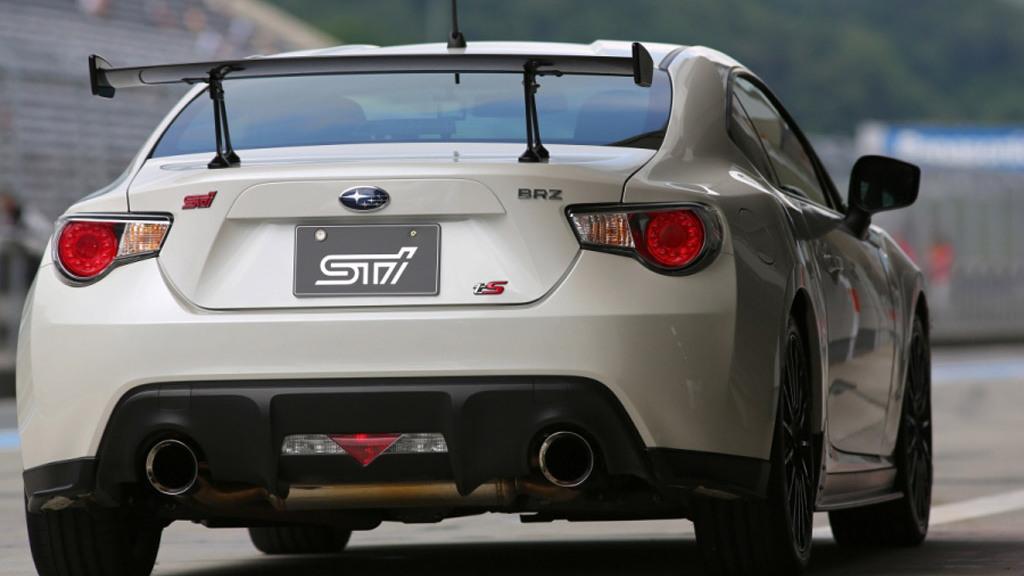Subaru BRZ tS concept