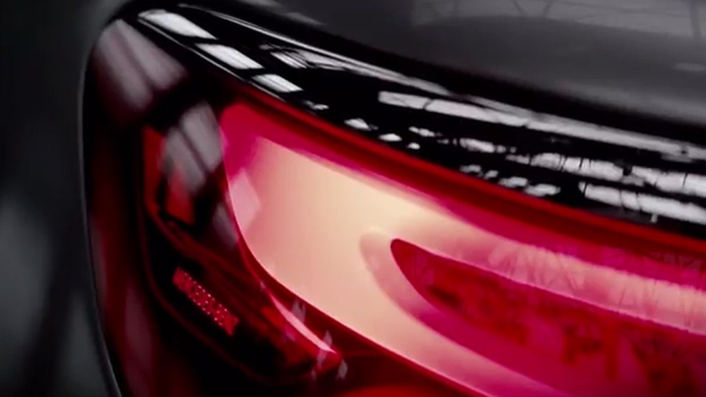Teaser for Mercedes-Benz Concept S-Class Coupe