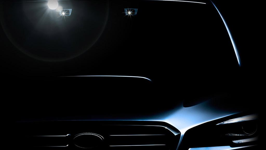 Teaser for Subaru Levorg concept