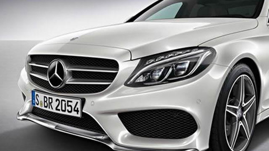 2015 Mercedes-Benz C-Class AMG Line leaked