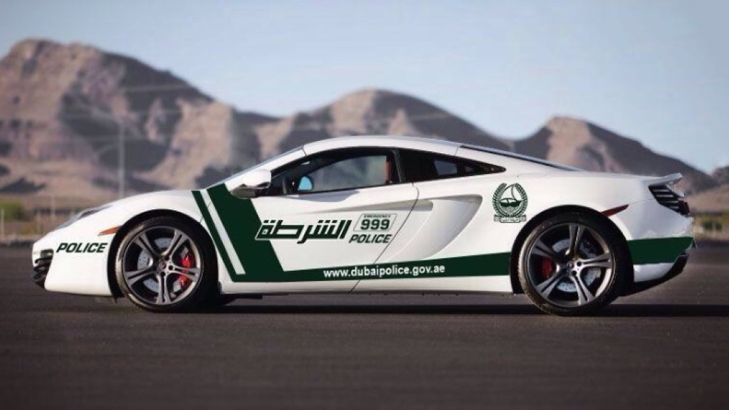 Dubai police adds McLaren MP4-12C to fleet