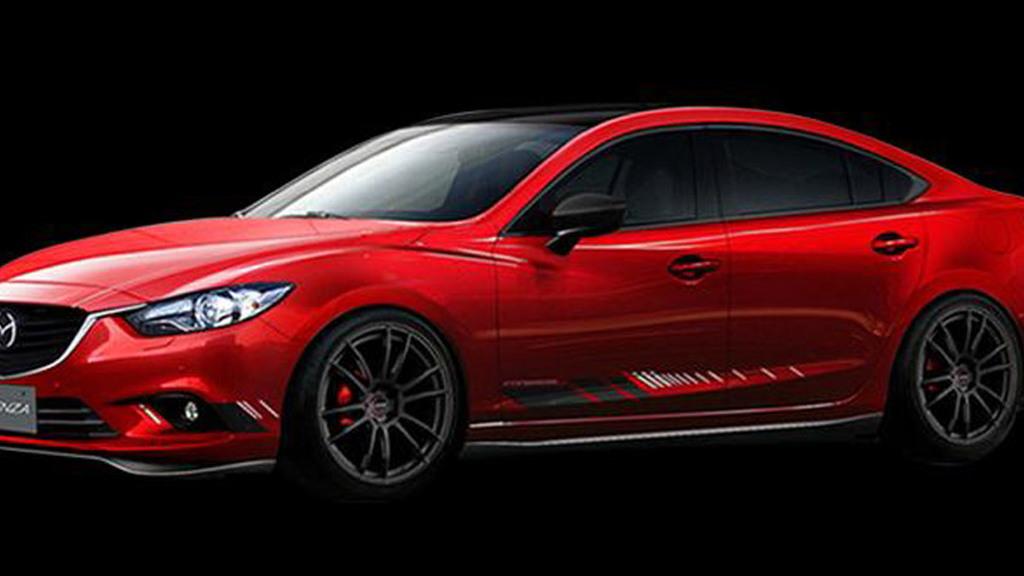 Mazda 6 Mazda Design concept, 2014 Tokyo Auto Salon