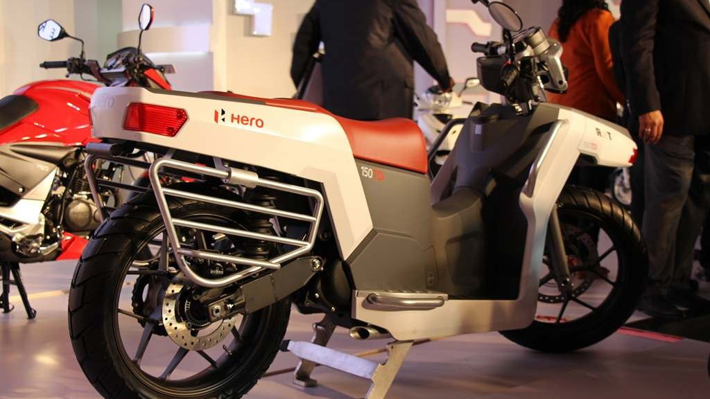 Hero RNT diesel commuter motorcycle (Image: MotorBeam)