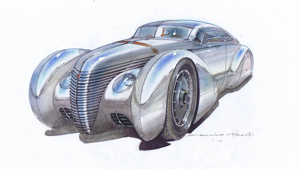 Icon Helios - Tesla-powered streamliner