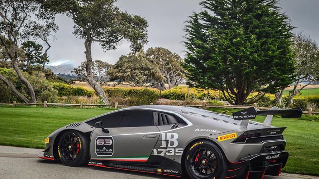2015 Lamborghini Huracán LP 610-4 Super Trofeo race car (Image via Carspotter Jeroen)