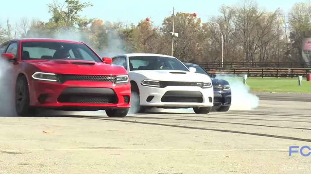 Dodge Rings In 2015 With A Hellcat Burnout Compilation Video