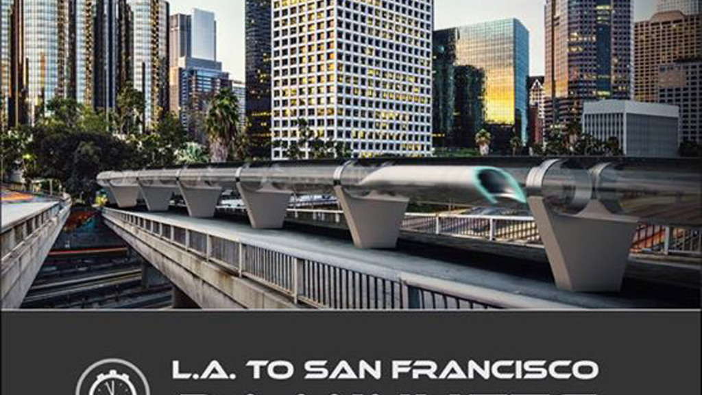 Hyperloop concept - Image via Hyperloop Transportation Technologies