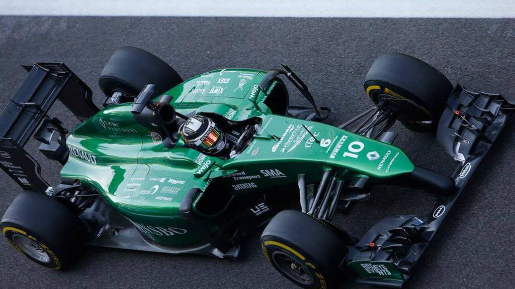 Caterham's 2014 Formula One car
