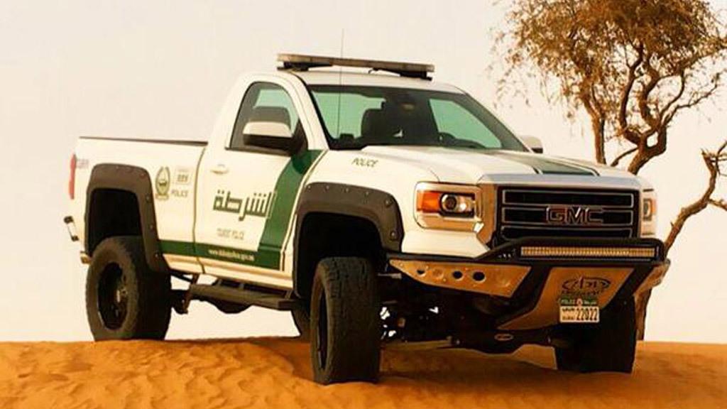 Dubai Police 2015 GMC Sierra 1500