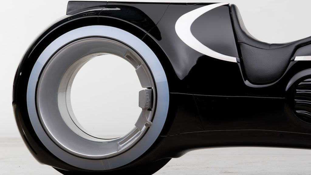 'Tron: Legacy' light cycle replica - Image via RM Auctions