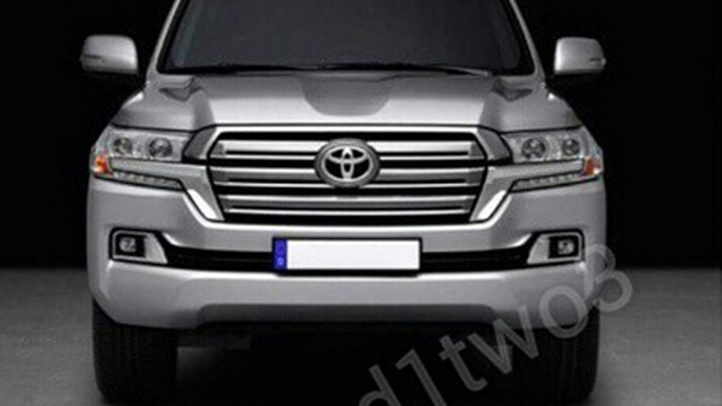 2016 Toyota Land Cruiser leaked - Image via hamad1two3