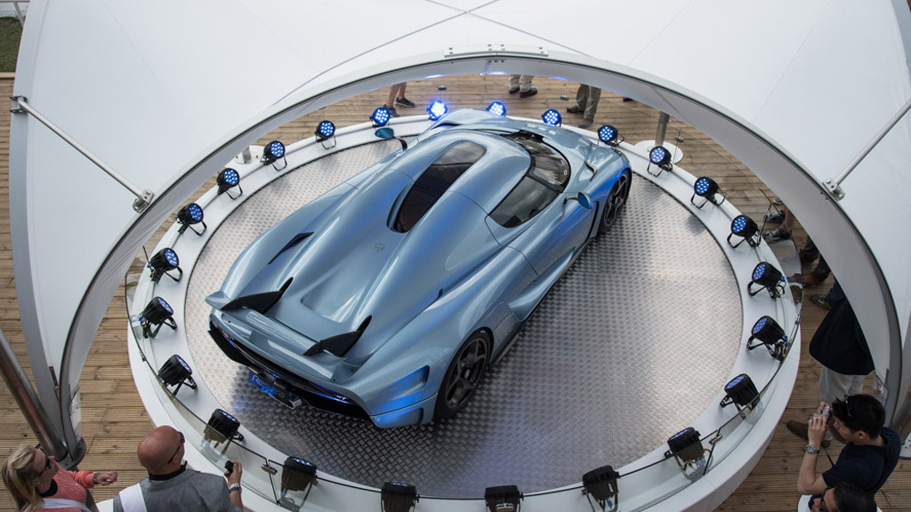 Koenigsegg Regera, 2015 Goodwood Festival of Speed