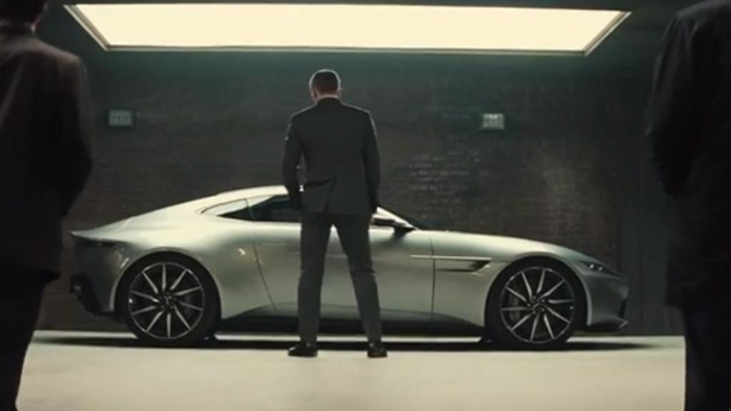 Aston Martin DB10 in trailer for new James Bond movie 'Spectre'