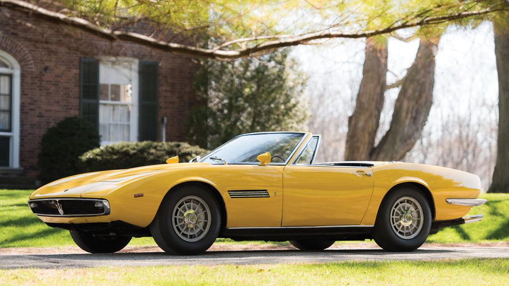 1968 Maserati Ghibli Spyder