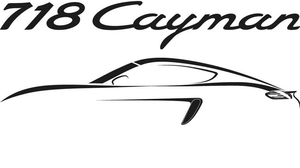 Teaser for Porsche 718 Cayman