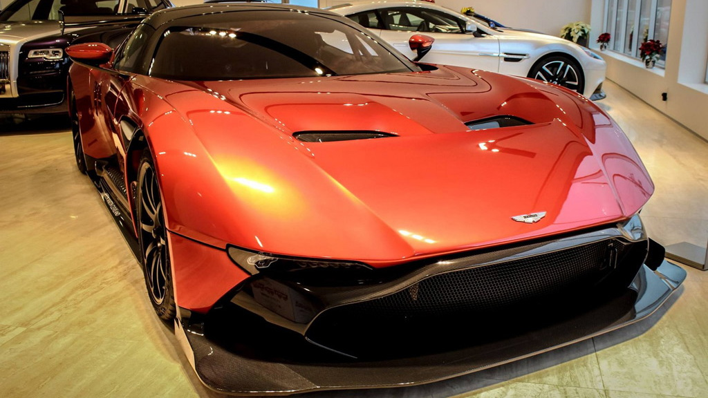 Aston Martin Vulcan - Image via Aston Martin Cleveland