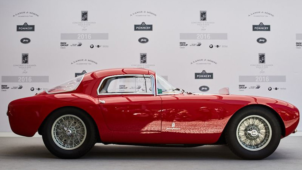 1954 Maserati A6 GCS by Pininfarina